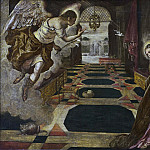 Tintoretto (Jacopo Robusti) - The Annunciation [Workshop]