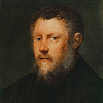 Tintoretto (Jacopo Robusti) - Portrait of a Man (fragment)