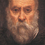 Tintoretto (Jacopo Robusti) - Tintoretto_Self_portrait_detail1