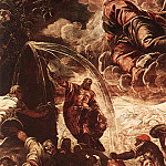 Tintoretto (Jacopo Robusti) - Tintoretto_Moses_Drawing_Water_from_the_Rock_detail1