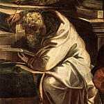 Tintoretto (Jacopo Robusti) - Tintoretto_Christ_before_Pilate_detail1