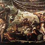 Tintoretto (Jacopo Robusti) - Tintoretto_The_Miracle_of_Manna_detail