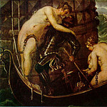 Tintoretto (Jacopo Robusti) - Tintoretto The deliverance of Arsinoe, ca 1560, 153x251 cm,