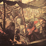 Tintoretto (Jacopo Robusti) - Battle_between_Turks_and_Christians_WGA