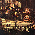 Tintoretto (Jacopo Robusti) - Tintoretto_The_Last_Supper_detail1