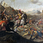 Pierre-Jacques Volaire - A Roman Battle