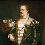Titian (Tiziano Vecellio) - Lavinia, daughter of Titian