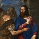 Titian (Tiziano Vecellio) - The Tribute Money