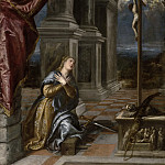 Saint Catherine of Alexandria at Prayer, Titian (Tiziano Vecellio)
