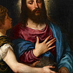 Titian (Tiziano Vecellio) - The Temptation of Christ