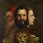 Titian (Tiziano Vecellio) - An Allegory of Prudence (Titian and workshop)