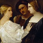 Titian (Tiziano Vecellio) - The Appeal