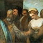 Titian (Tiziano Vecellio) - Christ and the Adultress