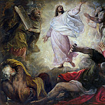 Titian (Tiziano Vecellio) - The Transfiguration of Christ