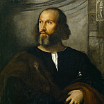 Titian (Tiziano Vecellio) - Portrait of a Bearded Man