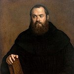 Titian (Tiziano Vecellio) - A monk with a book