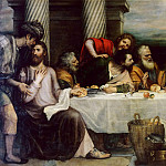 Titian (Tiziano Vecellio) - Last Supper (Titian and his workshop)