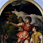 Tobias and the Angel, Titian (Tiziano Vecellio)