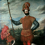 Titian (Tiziano Vecellio) - Portrait of Giovan Francesco Acquaviva, Duke of Atri