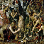 Titian (Tiziano Vecellio) - Punishment of Marsyas