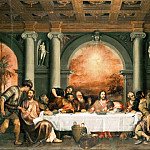 The Last Supper, Titian (Tiziano Vecellio)