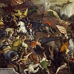 Titian (Tiziano Vecellio) - Battle of Cadore (copy)