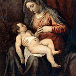 Titian (Tiziano Vecellio) - Mary with the Child