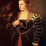 Portrait of daughter Lavinia, Titian (Tiziano Vecellio)