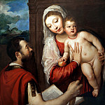 Madonna and Child with Saint Paul, Titian (Tiziano Vecellio)