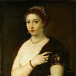 Titian (Tiziano Vecellio) - Young Woman with Fur