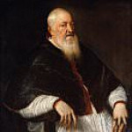 Titian (Tiziano Vecellio) - Filippo Archinto (born about 1500, died 1558), Archbishop of Milan