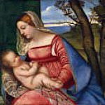 Titian (Tiziano Vecellio) - Madonna and Child