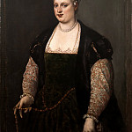 Titian (Tiziano Vecellio) - Portrait of a Woman