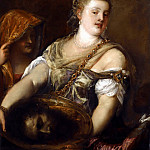 Titian (Tiziano Vecellio) - SALOME WITH THE HEAD OF JOHN THE BAPTIST