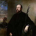 Portrait of a Man with a Palm, Titian (Tiziano Vecellio)