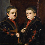 Portrait of Two Boys, Said to be Members of the Pesaro Family, Titian (Tiziano Vecellio)
