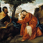 Rest on the Flight into Egypt, Titian (Tiziano Vecellio)
