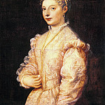 Portrait of young woman , Titian (Tiziano Vecellio)