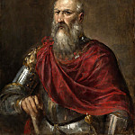 PORTRAIT OF AN ADMIRAL, PROBABLY FRANCESCO DUODO , Titian (Tiziano Vecellio)