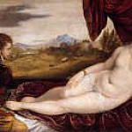 Titian (Tiziano Vecellio) - Venus with the Organ Player