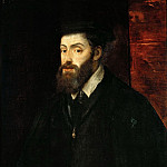 Titian (Tiziano Vecellio) - Portrait of Emperor Charles V (Attributed to Titian)