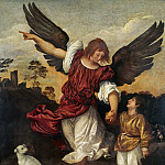 Titian (Tiziano Vecellio) - Tobias and the Angel