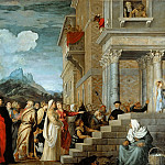 Titian (Tiziano Vecellio) - Presentation of Mary in the Temple