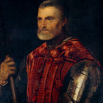 Titian (Tiziano Vecellio) - Man in Armour