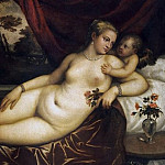 Venus with a Dog, a Cupid and a Partridge