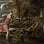 The Death of Actaeon, Titian (Tiziano Vecellio)
