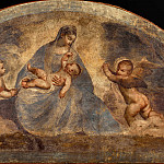 Titian (Tiziano Vecellio) - Virgin and Child with two Angels