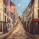 Maurice Utrillo - utrillo_street_in_paris_1914