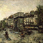 Maurice Utrillo - Porte Saint Martin in Paris 1908