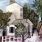 Maurice Utrillo - Le Lapin Agile The nimble rabbit 1912
